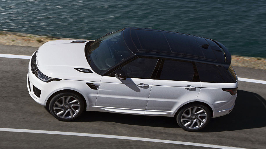 range rover sport ook in hybride. Black Bedroom Furniture Sets. Home Design Ideas