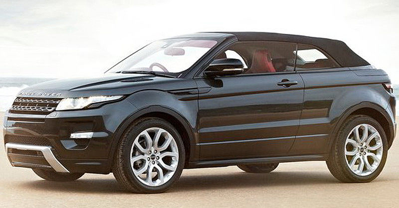 Range Rover Evoque Convertible test