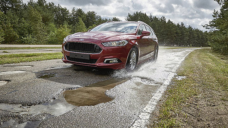 Ford ontwikkelt anti-kuilsysteem in Lommel