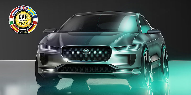 Jaguar I-Pace wint car of the world award